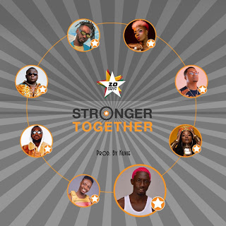 Efya x Bosom Pyung x Kojo Cue x Fancy Gadam x CJ Biggerman x Pappy Kojo x Yaa Pono x Feli Nuna – Stronger Together (Prod. by Kuvie)